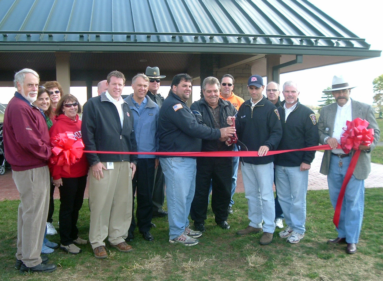Diener ribbon-cutting